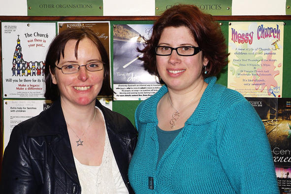 Cathy Connor & Sharon Pavey (April 2010)