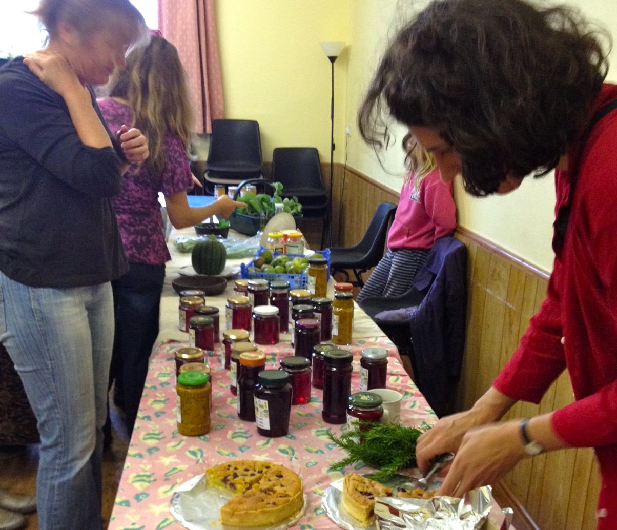Totnes food swap