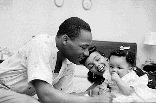 mlk coretta and baby