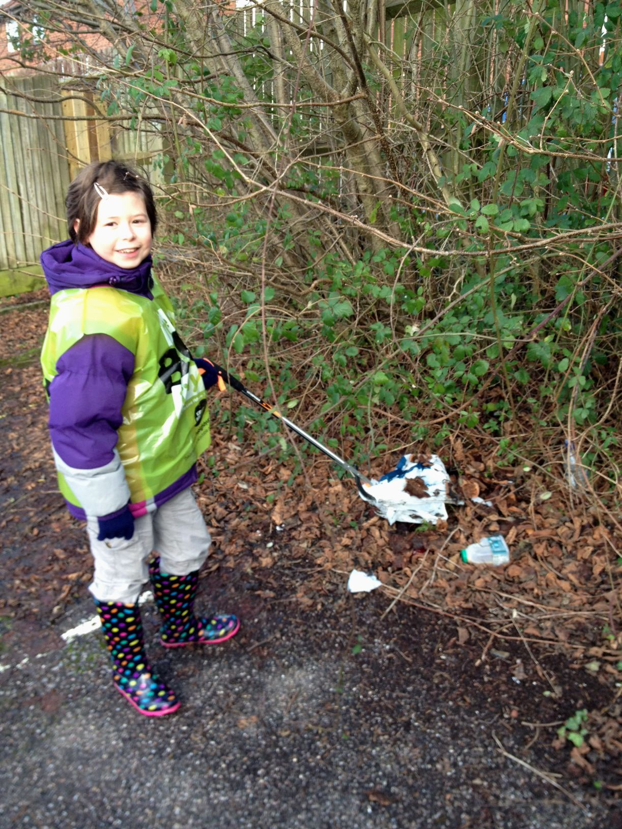 Natasha litter pick
