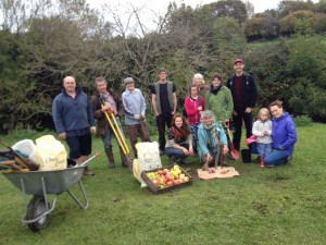 Creating a community orchard